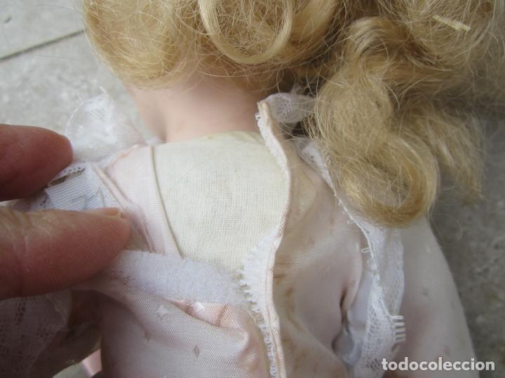 Muñecas Porcelana: muñeca cara y estremidades de porcelana de ojos fijos - Foto 14 - 158237806