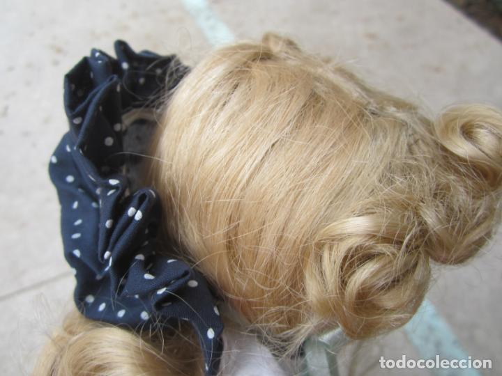 Muñecas Porcelana: muñeca cara y estremidades de porcelana de ojos fijos - Foto 4 - 158238422
