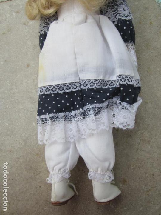 Muñecas Porcelana: muñeca cara y estremidades de porcelana de ojos fijos - Foto 6 - 158238422