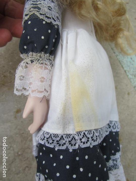 Muñecas Porcelana: muñeca cara y estremidades de porcelana de ojos fijos - Foto 7 - 158238422