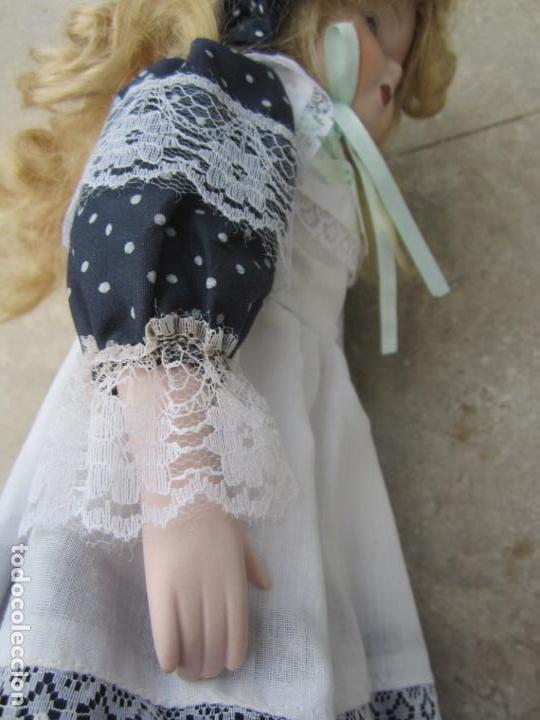 Muñecas Porcelana: muñeca cara y estremidades de porcelana de ojos fijos - Foto 8 - 158238422
