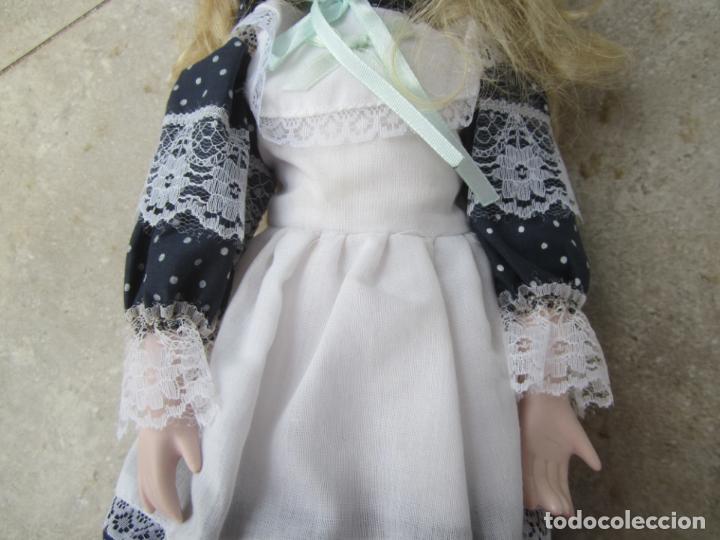 Muñecas Porcelana: muñeca cara y estremidades de porcelana de ojos fijos - Foto 9 - 158238422