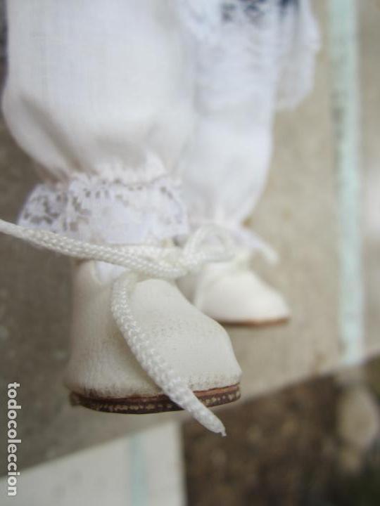 Muñecas Porcelana: muñeca cara y estremidades de porcelana de ojos fijos - Foto 13 - 158238422
