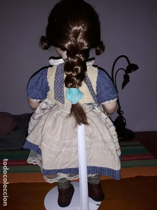 Muñecas Porcelana: Pareja de niños del campo** - Foto 3 - 158569006