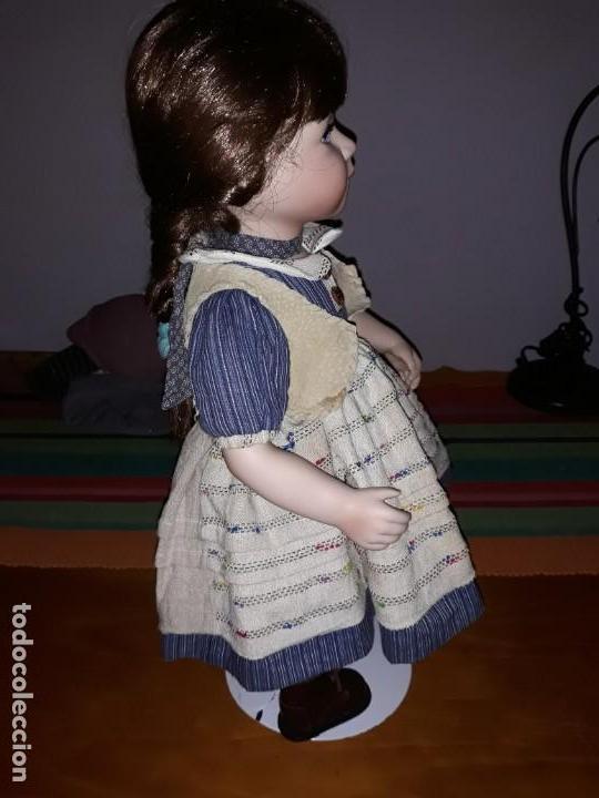 Muñecas Porcelana: Pareja de niños del campo** - Foto 4 - 158569006