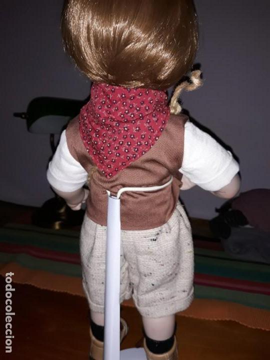 Muñecas Porcelana: Pareja de niños del campo** - Foto 7 - 158569006