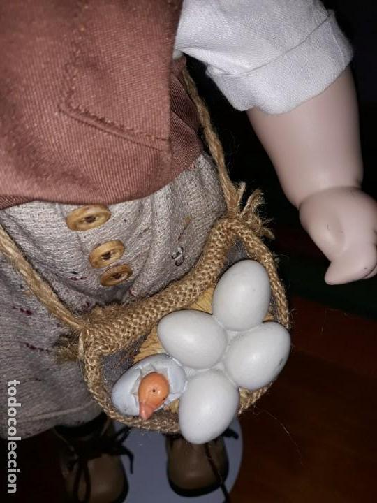 Muñecas Porcelana: Pareja de niños del campo** - Foto 8 - 158569006