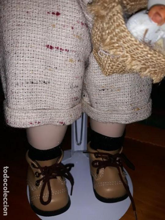 Muñecas Porcelana: Pareja de niños del campo** - Foto 9 - 158569006