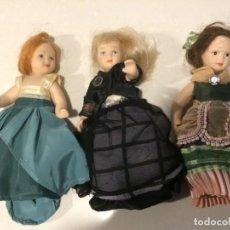 Muñecas Porcelana: MUÑECAS VICTORIANAS DE PORCELANA. KENSINGTON COLLECTION. Lote 158941298