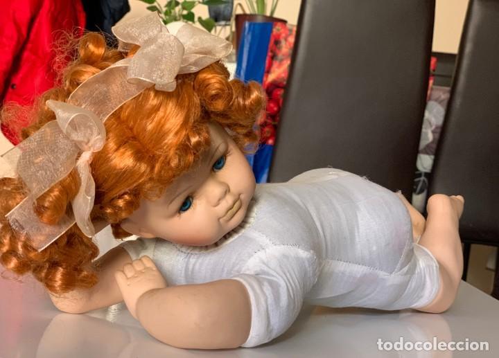 Muñecas Porcelana: muñeca porcelana con cuerpo trapo - Foto 2 - 159205794
