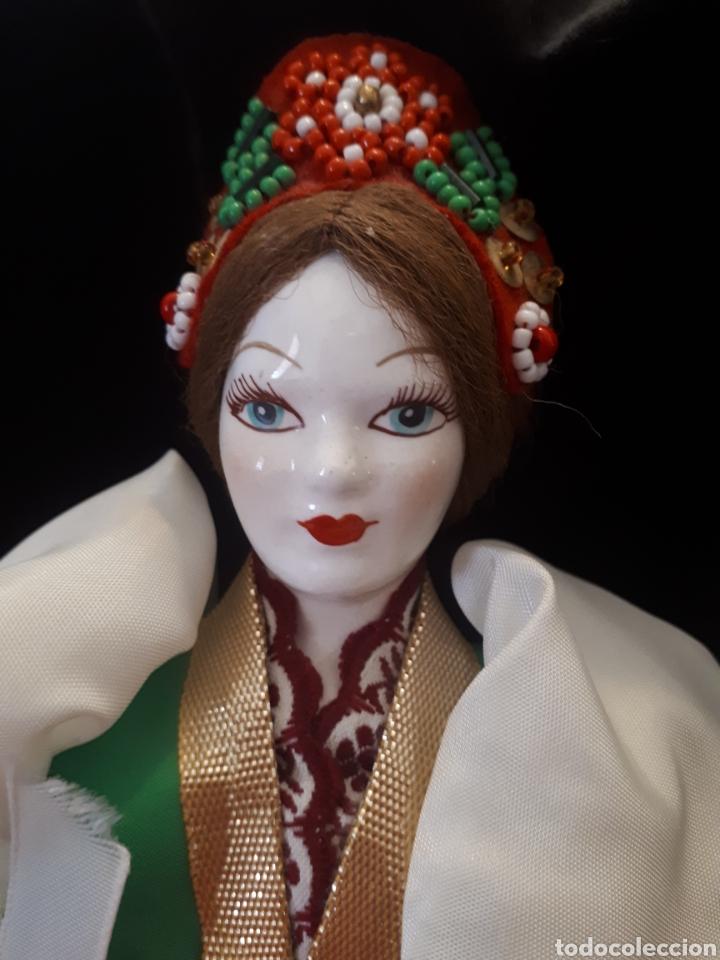 MUÑECA RUSA PORCELANA (Juguetes - Muñeca Extranjera Moderna - Porcelana)