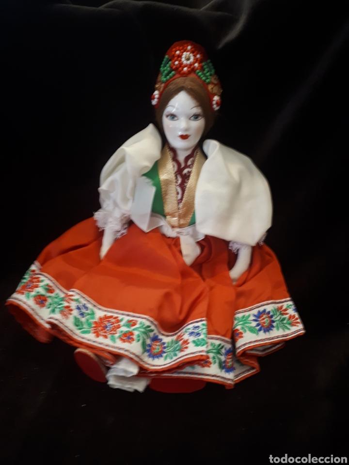 Muñecas Porcelana: Muñeca rusa porcelana - Foto 2 - 159823913