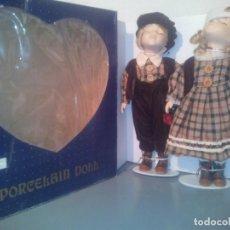 Muñecas Porcelana - MUÑECA DE PORCELANA DOLL. PAREJA. - 159844830