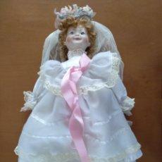 Muñecas Porcelana: MUÑECA PORCELANA TIPO BISCUIT. Lote 160926182