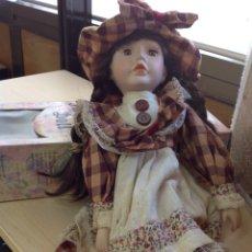 Muñecas Porcelana - Muñeca de porcelana Doll - 161332214