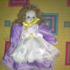Muñecas Porcelana: MUÑECA PORCELANA. Lote 163571370