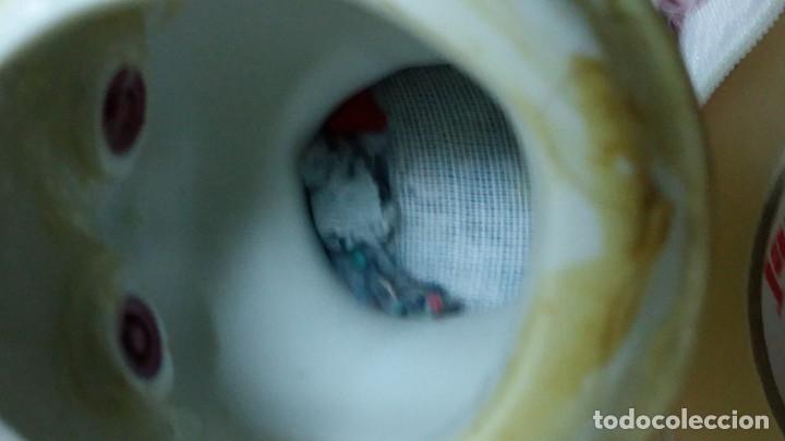 Muñecas Porcelana: ANTIGUA MUÑECA DE PORCELANA PRECIOSA CON VESTIDO EN ROSA CON ENCAJES DE ESTILO EPOCA - Foto 7 - 33195988