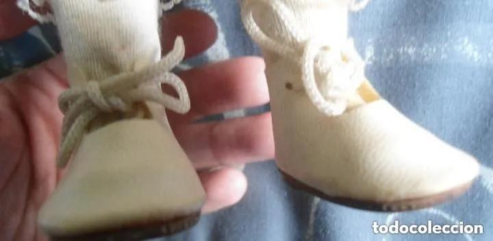 Muñecas Porcelana: ANTIGUA MUÑECA PORCELANA CARA ESMALTADA - CUERPO COMPLETO PORCELANA - Foto 5 - 166150286