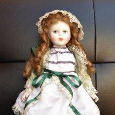 Muñecas Porcelana: MUÑECA DE PORCELA. Lote 166708234