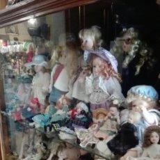Muñecas Porcelana: LOTE UNAS 44 MUÑECAS DE PORCELANA VARIOS TAMAÑOS. Lote 158214702