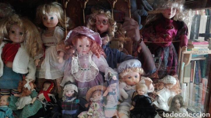 Muñecas Porcelana: LOTE UNAS 44 MUÑECAS DE PORCELANA VARIOS TAMAÑOS - Foto 4 - 158214702