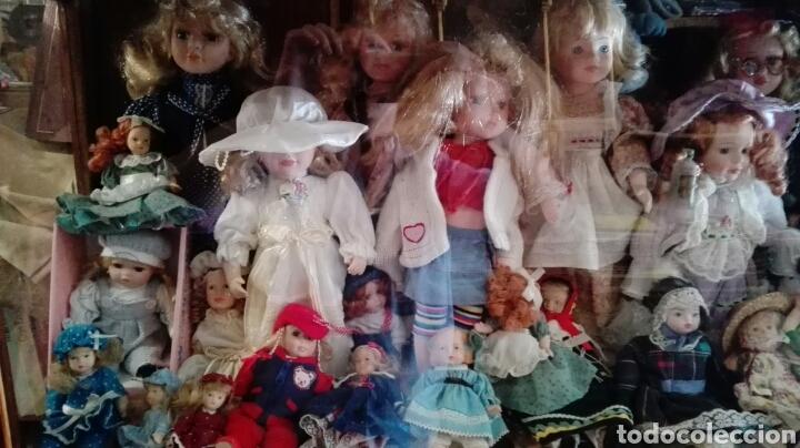Muñecas Porcelana: LOTE UNAS 44 MUÑECAS DE PORCELANA VARIOS TAMAÑOS - Foto 5 - 158214702