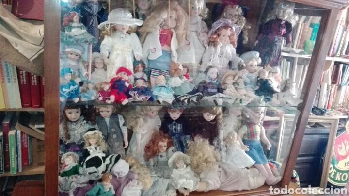 Muñecas Porcelana: LOTE UNAS 44 MUÑECAS DE PORCELANA VARIOS TAMAÑOS - Foto 6 - 158214702