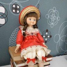 Muñecas Porcelana: MUÑECA DE PORCELANA 40CM. Lote 167579044