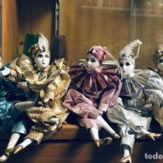 Muñecas Porcelana: ARLEQUÍN PORCELANA. Lote 167828740