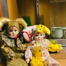 Muñecas Porcelana: ARLEQUINES. Lote 167829642