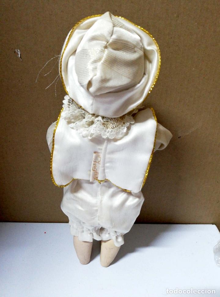 Muñecas Porcelana: ANTIGUA MUÑECA DE CERAMICA. TORSO BRAZOS PIERNAS DE CERAMICA. FINA INGLES. VER FOTOS. - Foto 2 - 168793384