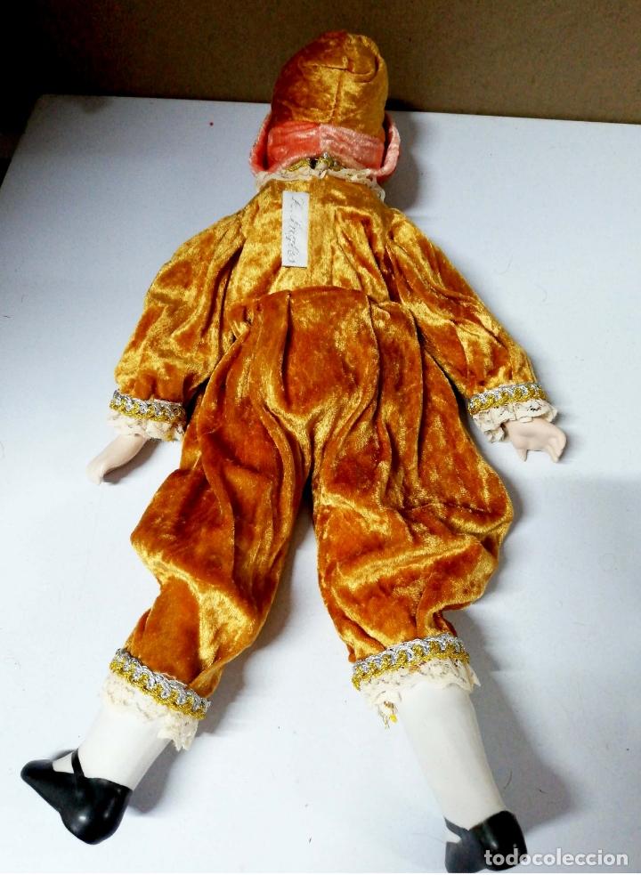 Muñecas Porcelana: ANTIGUA MUÑECA DE CERAMICA. CABEZA BRAZOS PIERNAS DE CERAMICA. R. INGLES. VER FOTOS. - Foto 2 - 168795816