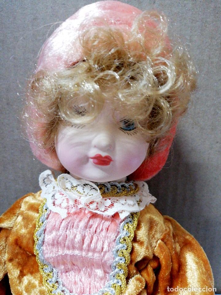 Muñecas Porcelana: ANTIGUA MUÑECA DE CERAMICA. CABEZA BRAZOS PIERNAS DE CERAMICA. R. INGLES. VER FOTOS. - Foto 4 - 168795816