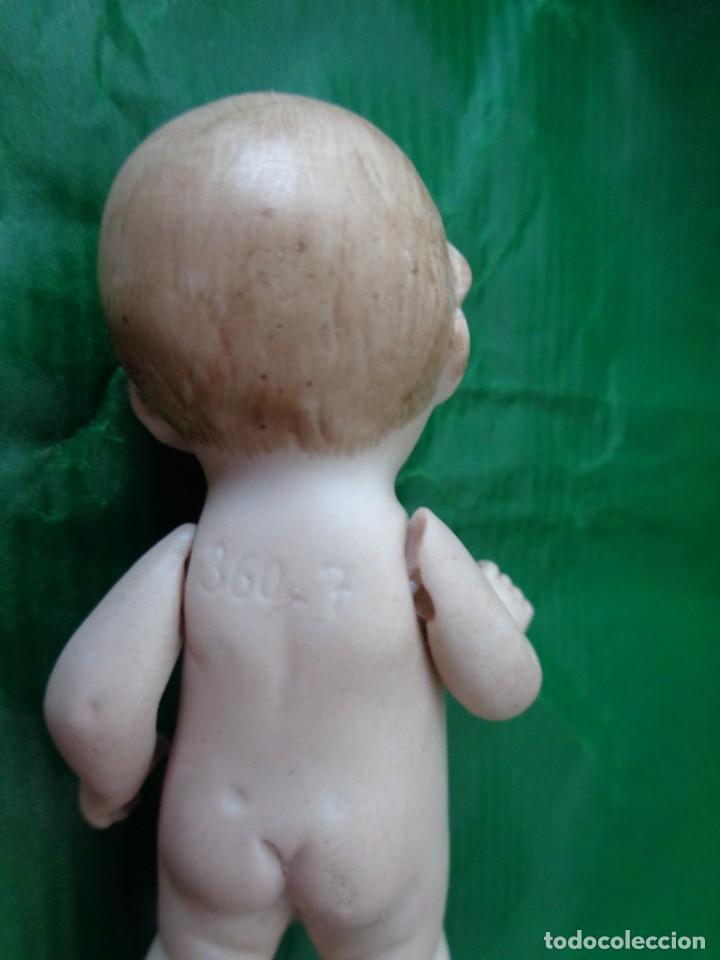 Muñecas Porcelana: Conjunto de 5 piezas, 4 bebes y 1 bañera. Biscuit y porcelana. Numeradas. principios del s. XX - Foto 7 - 168797416