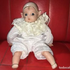 Muñecas Porcelana: MUÑECO ELFO DUENDE DE PORCELANA. Lote 168984948