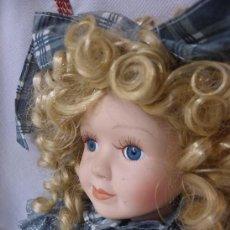 Muñecas Porcelana: MUÑECA DE PORCELANA ESPAÑOLA. (ELCOFREDELABUELO). Lote 169824120