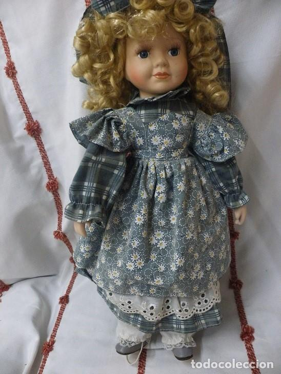 Muñecas Porcelana: Muñeca de porcelana ESPAÑOLA. (elcofredelabuelo) - Foto 2 - 169824120