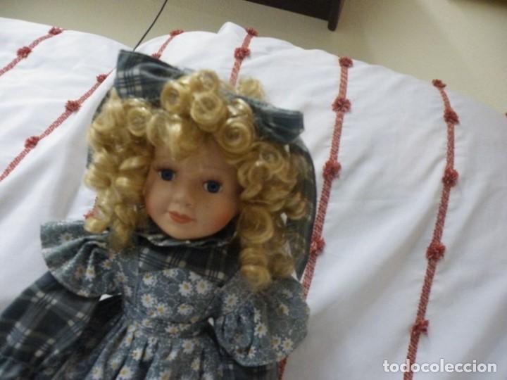 Muñecas Porcelana: Muñeca de porcelana ESPAÑOLA. (elcofredelabuelo) - Foto 3 - 169824120