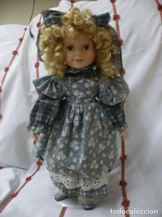 Muñecas Porcelana: Muñeca de porcelana ESPAÑOLA. (elcofredelabuelo) - Foto 6 - 169824120