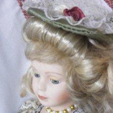 Muñecas Porcelana: MUÑECA DE PORCELANA ESPAÑOLA. Nº2. (ELCOFREDELABUELO). Lote 169824640