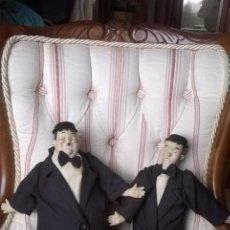 Muñecas Porcelana: EL GORDO Y EL FLACO (MUÑECOS PORCELANA). Lote 169895576