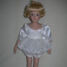 Muñecas Porcelana: MUY BONITA MUÑECA DE PORCELANA DE COLECCIÓN - BAILARINA DE BALLET - MIDE 40 CMS. -. Lote 170229508