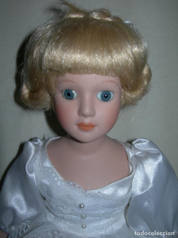 Muñecas Porcelana: MUY BONITA MUÑECA DE PORCELANA DE COLECCIÓN - BAILARINA DE BALLET - MIDE 40 CMS. - - Foto 2 - 170229508