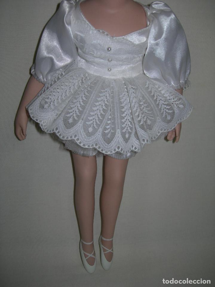 Muñecas Porcelana: MUY BONITA MUÑECA DE PORCELANA DE COLECCIÓN - BAILARINA DE BALLET - MIDE 40 CMS. - - Foto 3 - 170229508