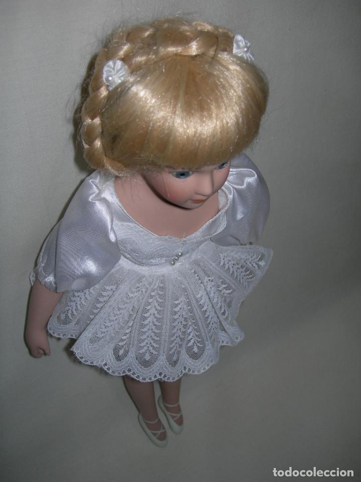 Muñecas Porcelana: MUY BONITA MUÑECA DE PORCELANA DE COLECCIÓN - BAILARINA DE BALLET - MIDE 40 CMS. - - Foto 6 - 170229508