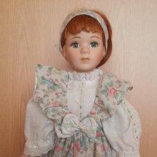Muñecas Porcelana: MUÑECA ALEMANA. AÑOS 70. CARITA DE PORCELANA.. Lote 170289556