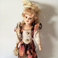 Muñecas Porcelana: ANTIGUA MUÑECA DE PORCELANA FRANCESA. Lote 170506188