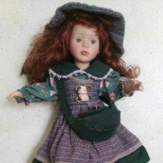 Muñecas Porcelana: MUÑECA DE PORCELANA MEDIDAS : ALTURA 40 CM.. Lote 170723295