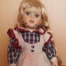Muñecas Porcelana: MUÑECA ALEMANA. AÑOS 70. CARITA DE PORCELANA.. Lote 170849165