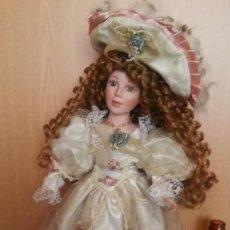 Muñecas Porcelana: MUÑECA ALEMANA. AÑOS 70. CARITA DE PORCELANA.. Lote 170850475